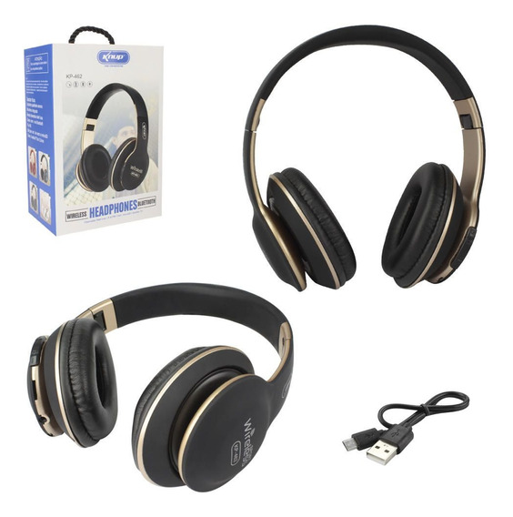Fone De Ouvido Bluetooth/microsd C/ Microfone Knup Kp-462