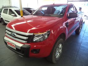 Ranger Xls 2.5 16v 4x2 Cs 2015 Vermelho Un Dono Rev Concess