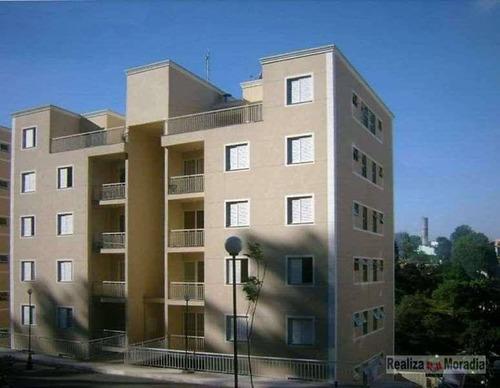 Apartamento Com 2 Dormitórios À Venda, 54 M² Por R$ 250.000,00 - Granja Viana - Cotia/sp - Ap0988