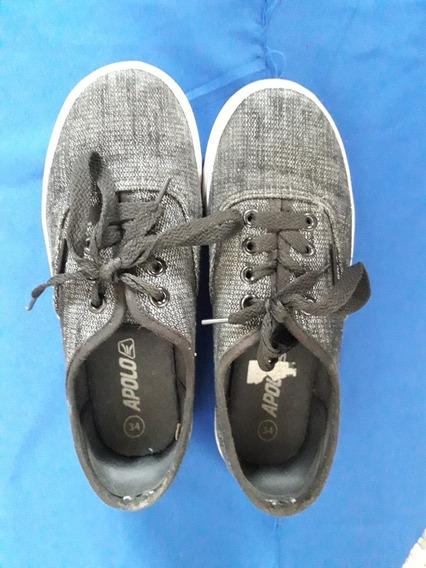 Zapatos Deportivos Apolo Talla 34