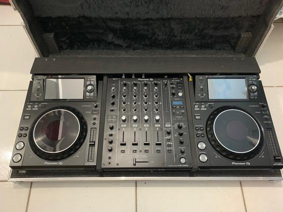 Xdj 1000mk2 E Mixer Djm 750mk2 Na Caixa