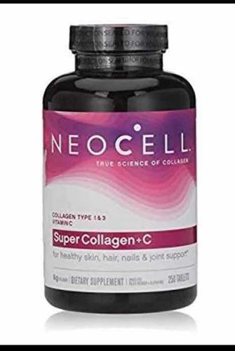 Colageno Tipo 1&3 + C / Neocell 250 Tabletas Usa