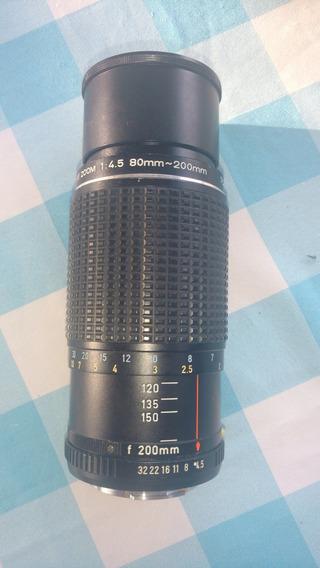Lente Smc Pentax K 80 - 200mm Zoom