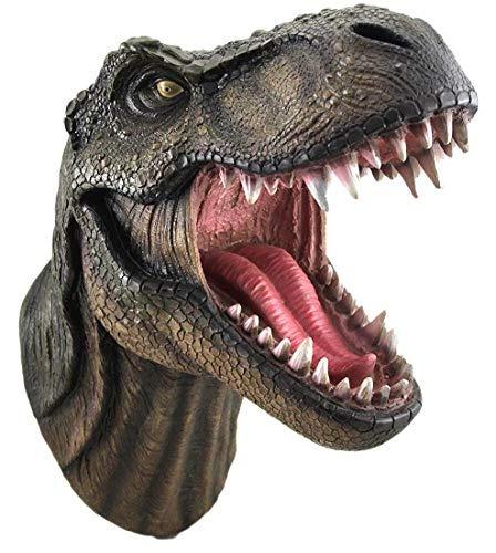 Jurassic Rey Trex Head Soporte De Pared