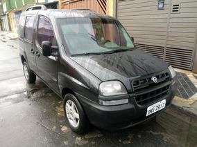 Fiat Doblo Elx 2004 Preta 1.8 8v Completa