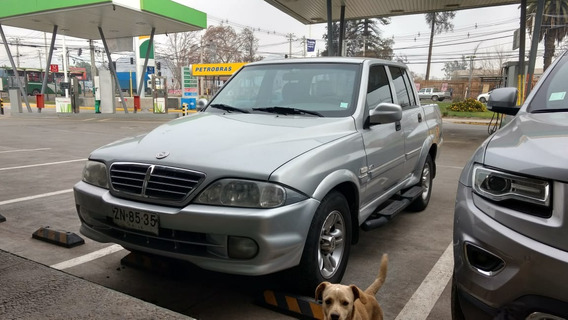 Ssangyong Musso Pic Up Versión:ms 290 Full
