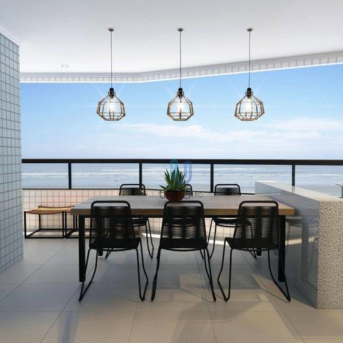 Imagem 1 de 30 de Apartamento Com 1 Dormitório À Venda, 44 M² Por R$ 234.101,00 - Vilamar - Praia Grande/sp - Ap0240