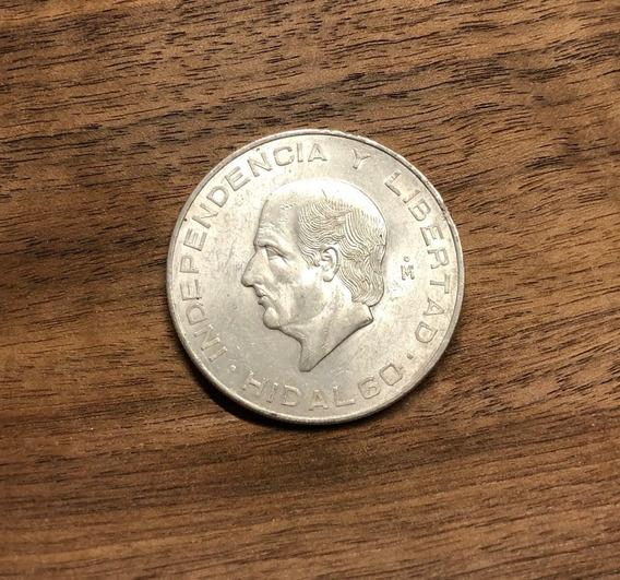 $10 Hidalgo Plata Ley 0.900 Ahorro En Plata O Colección