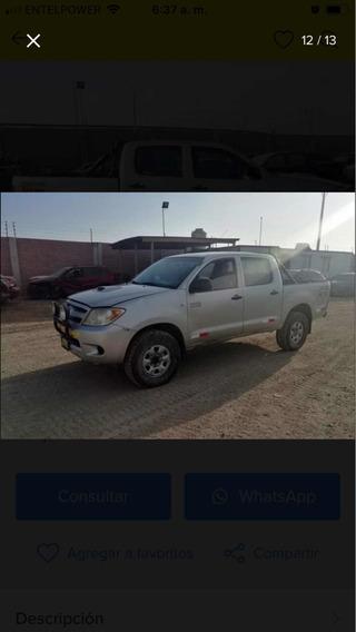 Toyota Hilux Srv Turbo Diésel