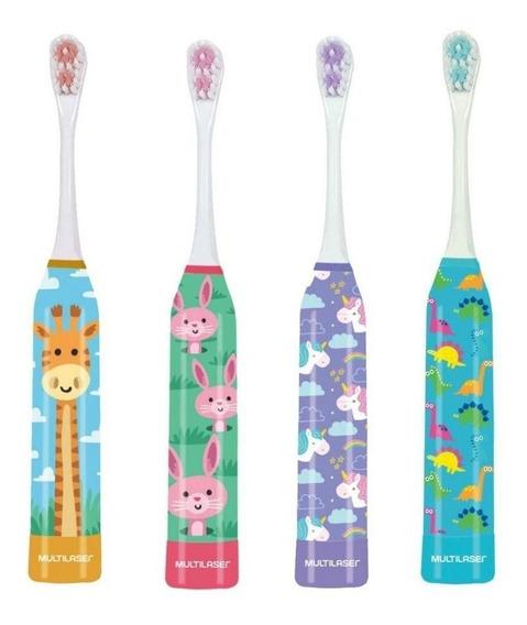 Escova De Dente Infantil Kids Health Pro Multilaser C/ Refil