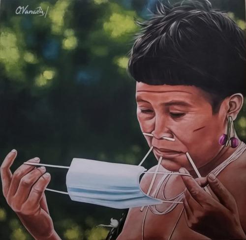 Imagen 1 de 1 de Cuadros Unicos Pintados A Mano Oleo Sobre Lienzo