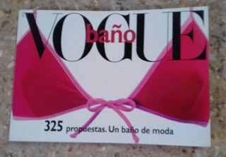Revista Vogue Especial Trajes De Baño