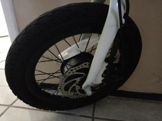 Bicicleta Dobravel E Elétrica - Aro 16