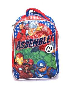 Mochila Avengers Super Héroes Original Línea Premium Jardín