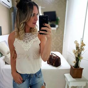 Blusas Femininas T-shirts Regata Moda Verão Viscose 2506