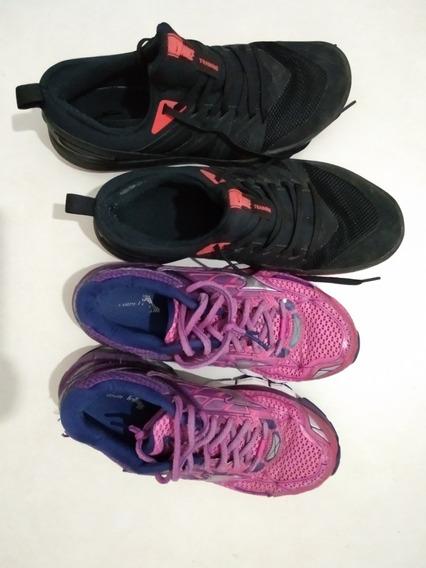 Tênis Masculino Nike E Feminino Mizuno ! Vendo Os Dois.