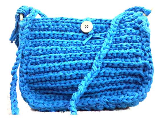 Bolsa De Crochê Linha De Malha Ótima Qualidade
