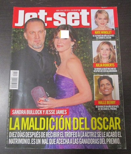 Sandra Bullock Jesse James Julia Roberts Revista Jet Set