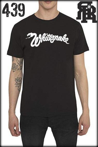 Remeras Whitesnake Todos Los Talles !!!
