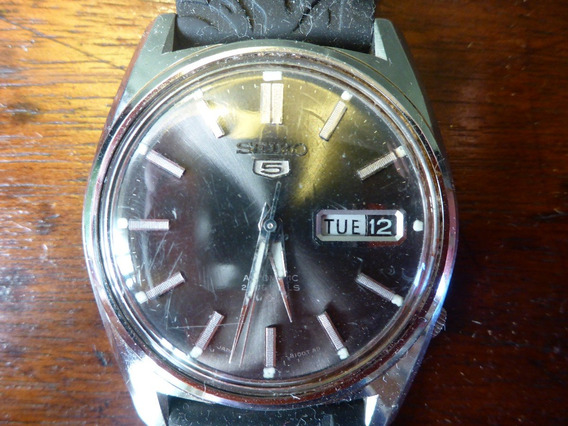 Relógio Seiko 5 Waterproof Automático 21 Jewels Anos 70