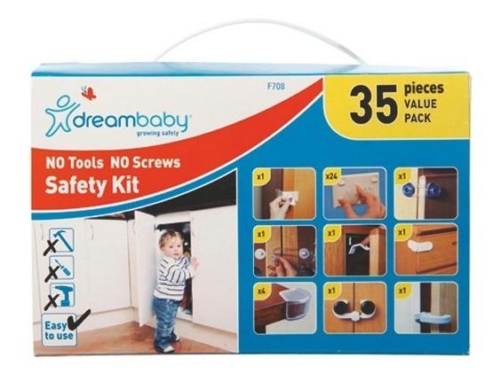 Seguridad Bebe Dreambaby Kit De Seguridad 35 Piezas