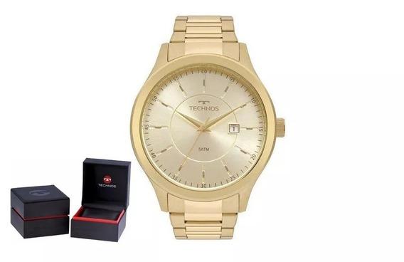 Relógio Technos Masculino Steel 2115mpt/4x + Garantia