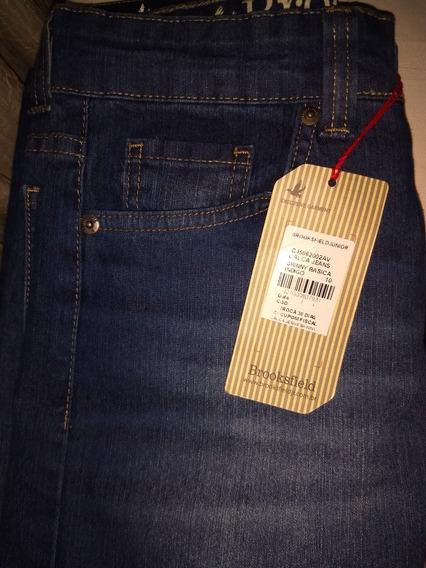 Calça Jeans Skinny Brooksfield Tam 10 Anos