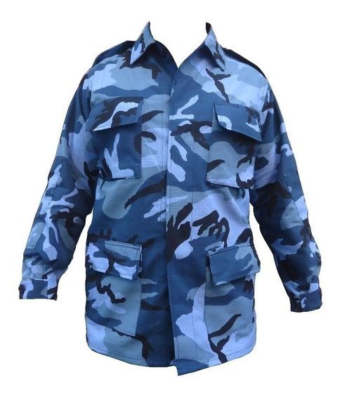 Chaquetilla Camuflado Azul Penitenciario (414133)