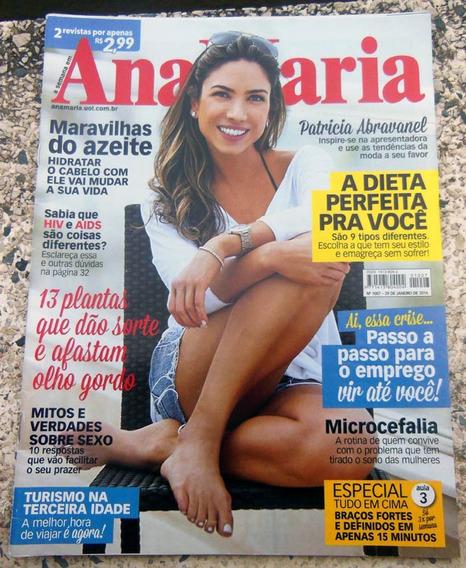 Revista Ana Maria 1007 Patrícia Abravanel Cauã Reymond 2016