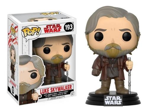 Imagen 1 de 1 de Funko Pop - Star Wars - Luke Skywalker #193