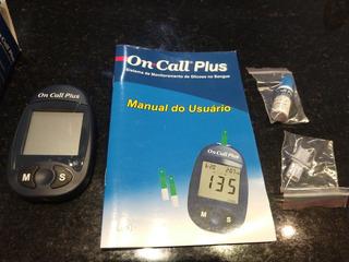 Medidor De Glicose On Call Plus - Usado