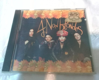 Cd 4 Non Blondes Bigger Better Faster More! 1992 Train