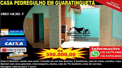 Casa A Venda No Bairro Pedregulho Em Guaratinguetá - Sp. - Cs309-1