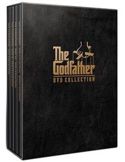 El Padrino 1 2 Y 3 Dvd Coleccion D Lujo Ingles Nuevo Sellado