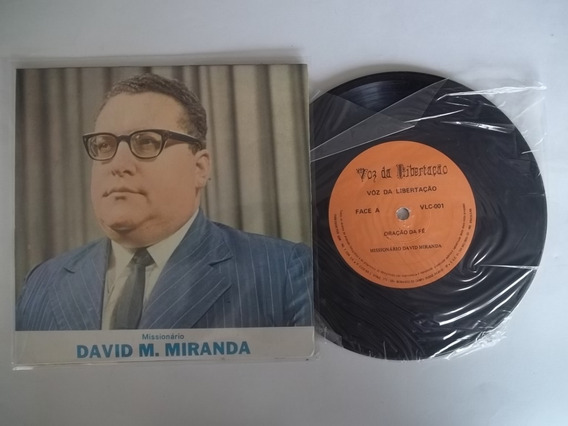 Vinil Compacto Ep - Missionário David M. Miranda