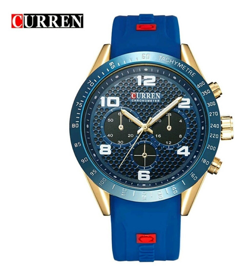 Promoção Relógio Masculino Curren Esportivo Original Estojo