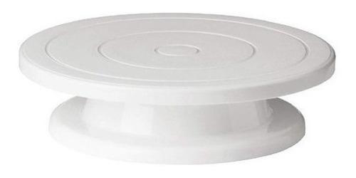 Imagen 1 de 2 de Bandeja Rotativa Para Decorar Tortas - Repostería - Cocina