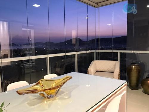 Imagem 1 de 28 de Apartamento À Venda, Praia Da Enseada, Guarujá. - Ap4441