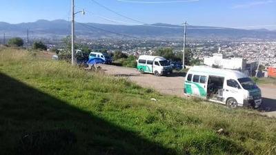 Venta De Terrenos En Frente Del Cuartel En La Colonia Paraíso Tulancingo J.a.t