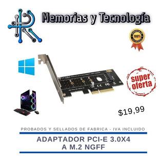 Adaptador Pci-e 3.0x4 A M.2 Ngff