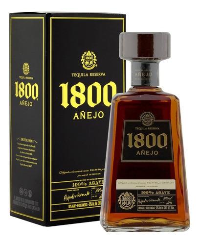 Imagen 1 de 8 de Tequila 1800 Añejo Reserva 750ml Origen Mexico