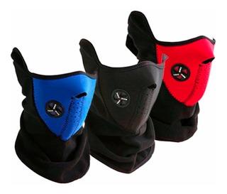 Máscara Térmica Neopreno Polar Para Motos Bicicletas Tuning
