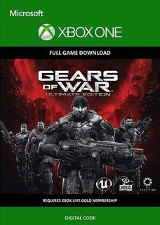 Gears Of War Ultimate Edition Xbox One Código Digital