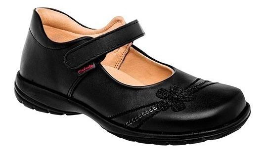 Zapato Escolar Niña Elefante 5652-001 Negro 15-21 S4