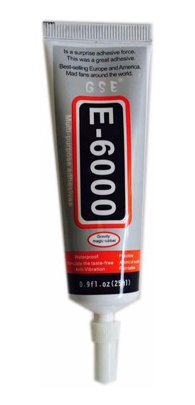 E6000 Super Cola E-6000 25ml Artesanato Chupetas Chinelos