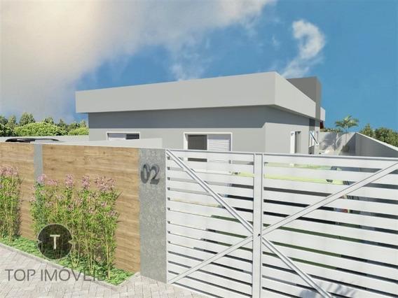 Casa 2 Dormitórios À Venda Em Itanhaém,são Paulo,bairro Jamaica - Ca00345 - 34500650
