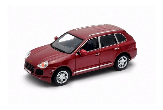 Porsche Cayenne Turbo Escala 1/24 - Welly Ploppy 373151