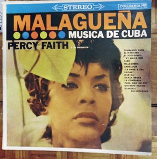 Disco De Vinilo Malagueña Percy Faith Musica De Cuba