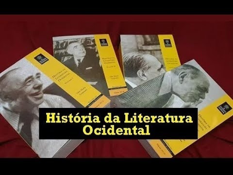 História Literatura Ocidental ( 4 Volumes)
