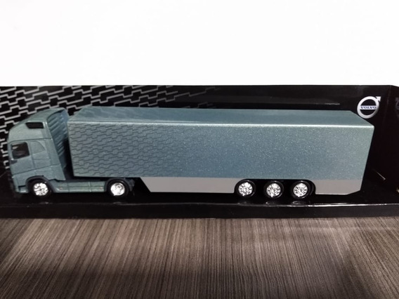 Miniatura Caminhão Volvo Fh 750 C/ Baú 1/87
